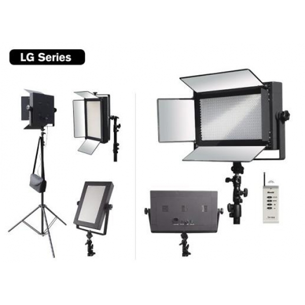 Bresser led lg 1200 72w studiolamp 7380 lm led for Lampen 500 lux