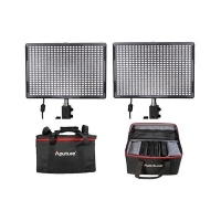 Aputure LED Set: 2x AL-528W CRI95 + Tas