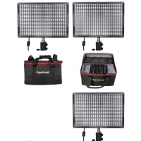 Aputure LED Set: 3x AL-528W CRI95 + Tas