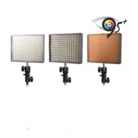 Aputure LED Set 3x HR-672C Bi Color + Tas + Afstandbediening